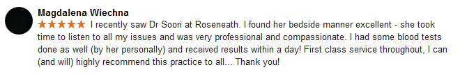 A great review!