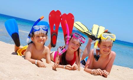 Children summertime